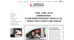 Preview of handikappanpassning.se